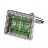 Football 'Fever' Pitch Cufflinks