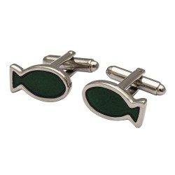 Fisherman's Friend Cufflinks - Green Edition
