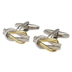 Camden - Eternal Love Knot Cufflinks