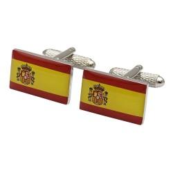 Flag of Spain Cufflinks