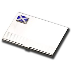 Flag of Scotland Business Card Holder