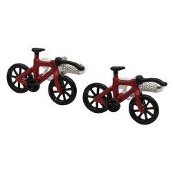 Triathlon Bike Cufflinks