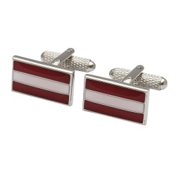 Flag of  Austria Cufflinks