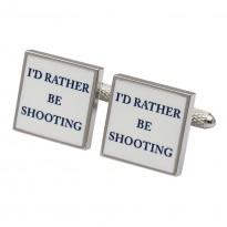 l'd Rather Be Shooting Cufflinks