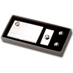 Football Cufflinks Gift Set