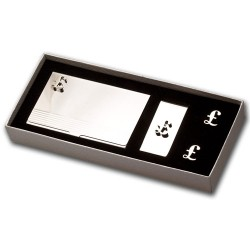 Pound Sign Cufflinks Gift Set