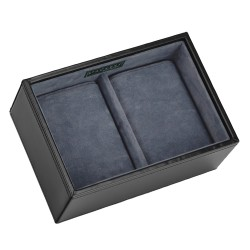 Stackers Black & Grey Watch Storage Tray