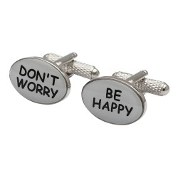Don't Worry Be Happy Cufflinks