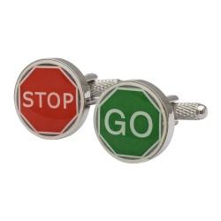 STOP GO Cufflinks