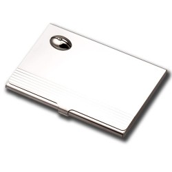 Business Card Holder - Rugby Ball