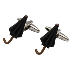 Black Umbrella Cufflinks