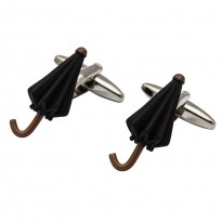 Black Umbrella Cufflinks