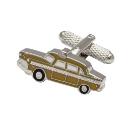 NYC Yellow Cab Cufflinks