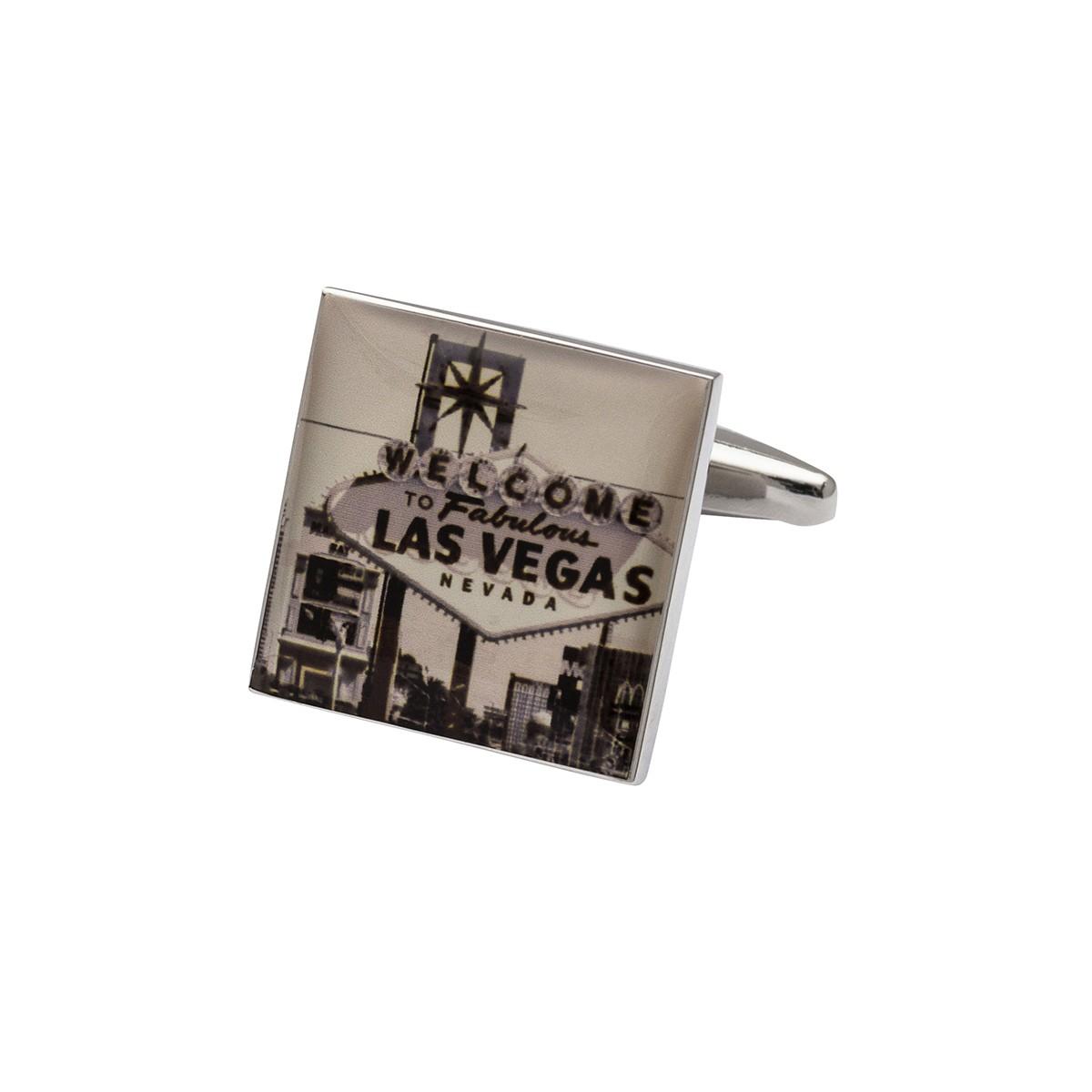 Las Vegas Cufflinks   Retro Nevada Cufflinks   Gambling Cufflinks
