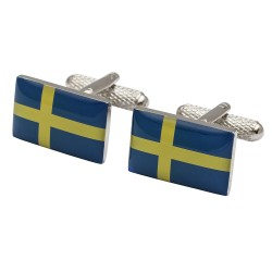 Flag of Sweden Cufflinks