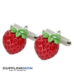 Strawberry Sensation Cufflinks