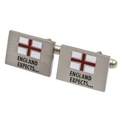 England Expects - St George's Cross Cufflinks