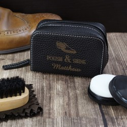 Personalised Polish and Shine Shoeshine Kit