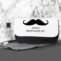 Moustache Wash Bag