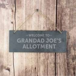 Welcome To - Personalised Slate Sign