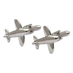 Jet Aeroplane Cufflinks