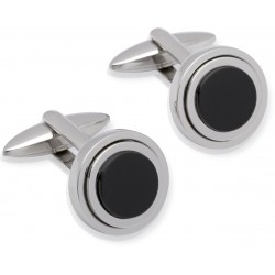 Black Onyx Designer Cufflinks