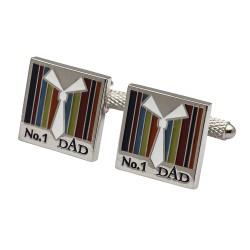 N01 Dad Cufflinks