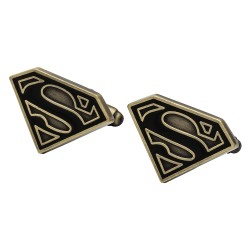Antique Gilt Superman Cufflinks