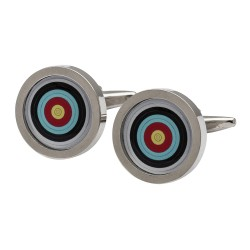 Archery Target Cufflinks