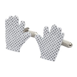 Goalie Gloves Cufflinks