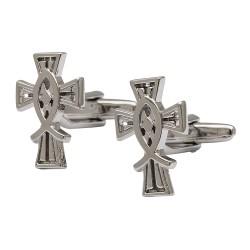 Crucifix Cufflinks