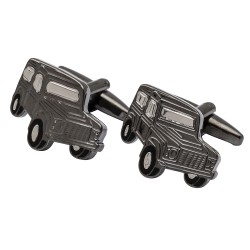 Land Rover Defender Cufflinks Gunmetal Edition
