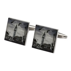London Big Ben Photo Cufflinks