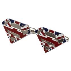 Union Jack Superman Cufflinks