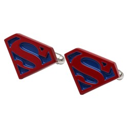 Red and Blue Superman Cufflinks