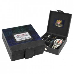 Cufflinks Case - Harris Tweed By The British Bag Company