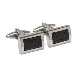 Lava Rock - Designer Cufflinks