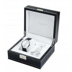 Chelsea Watch Cufflinks & Key Ring Boxed Gift Set