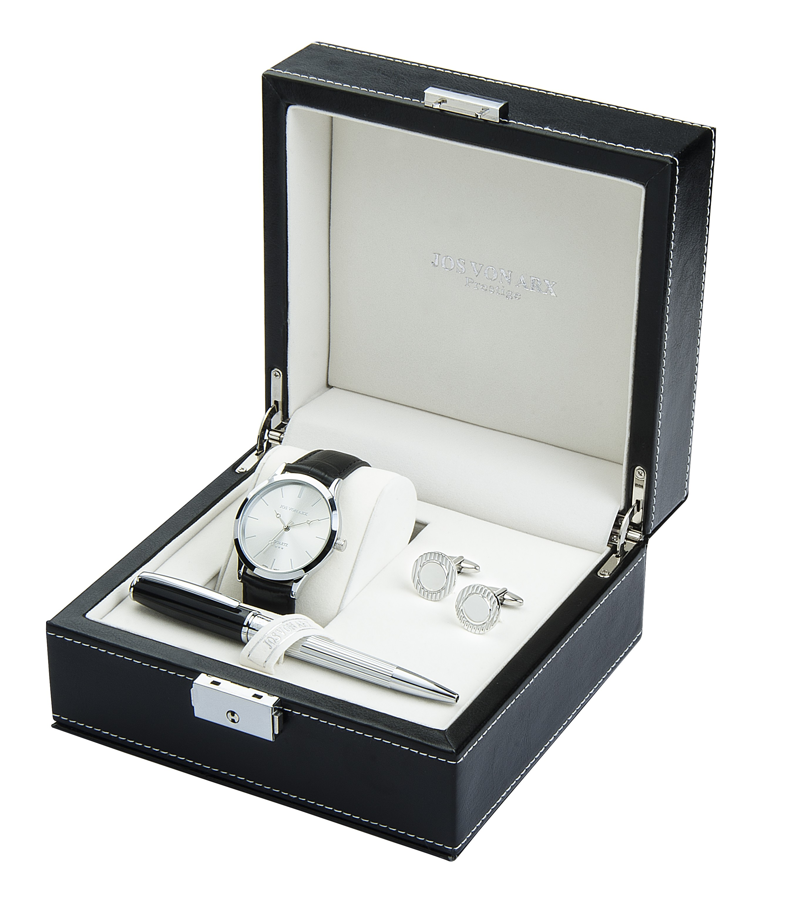 Arden Watch Cufflinks & Pen Boxed Gift Set - Cufflinkman