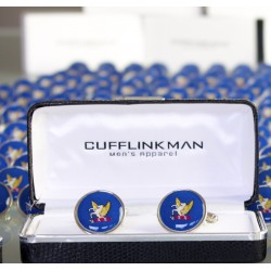 Bespoke RAF Cufflinks - Personalised Armed Forces Cufflinks