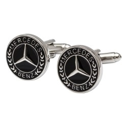 Mercedes Badge Cufflinks