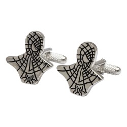 Silver Spiderman Cufflinks - Super Hero Cufflinks
