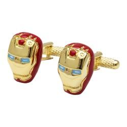 Iron man Cufflinks - Super Hero Cufflinks