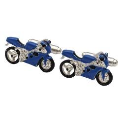 Need for Speed 'Blue' Superbike Cufflinks