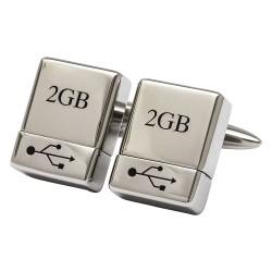 USB Cufflinks - Working USB Stick Cufflinks