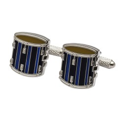 Drum Cufflinks - Marching Drum Cufflinks