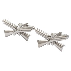 Crossed Shotguns Cufflinks - Shooting Cufflinks