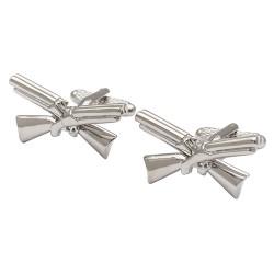 Crossed Shotguns Cufflinks - Shooting Cufflinks