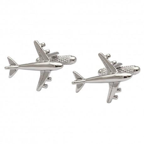 Boeing 747 Aeroplane Cufflinks