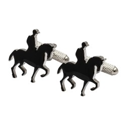 Dressage Rider and Horse Cufflinks